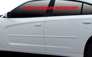 06 10 DODGE CHARGER PRE PAINTED DOOR MOLDING; PRE CUT & EASY INSTALL