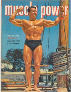 Muscle Power Bodybuilding Fitness Magazine Clarence Ross 10 50