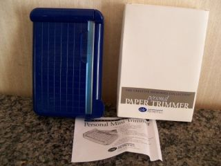 Creative Memories Personal Paper Photo Trimmer Brand New