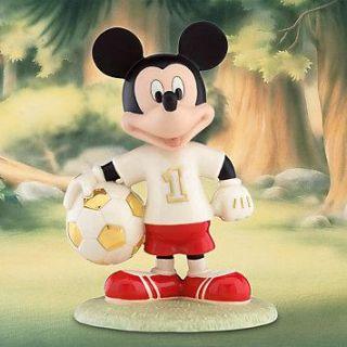 Lenox Soccer Star Mickey Disney Mickey Mouse Sport Figurine