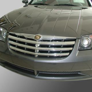 Chrysler Crossfire Front Grill Grille Trims in Chrome