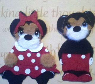 Custom Disney Minnie Mickey Mouse Disneyland Kids Tear Bear Kira AP4P