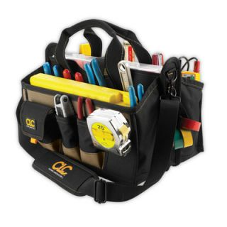 Custom Leathercraft CLC 1529 15 Pocket 16 Center Tray Tool Bag