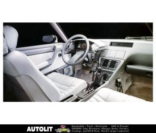 1988 Citroen CX Interior Factory Photo