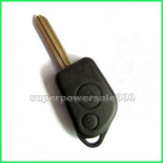 Remote Blank Key Shell Case for Citroen Saxo Xsara Picasso 2 Buttons