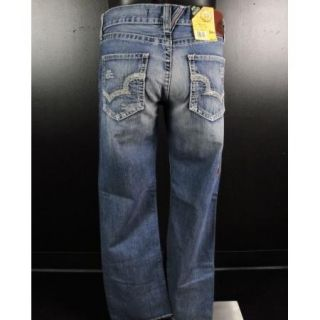 NWT Mens BIG STAR Jeans DESTROYED CLARKTON UNION STRAIGHT LEG