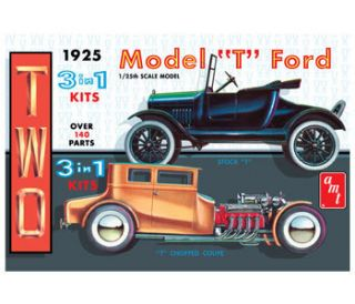 AMT 1925 Ford T 3N1 Model Car Mountain KIT 1 25 FS