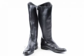 Ciao Bella Black 8 5 9 Leather Toni Knee High Riding Boot Shoe Mismate