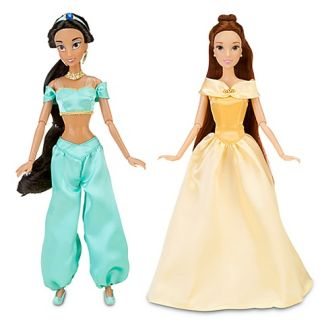 Disney Princess Doll 12 Classic Collection 10 Figures Gift Set