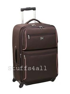 Liz Claiborne Marina SPINNER 29 Expandable Rolling Suitcase