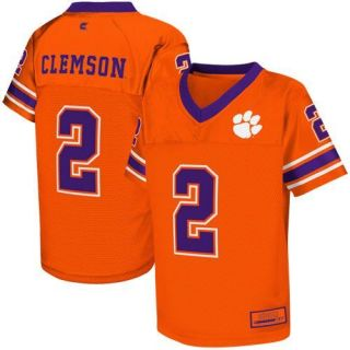 Clemson Tigers 2 Preschool Stadium Replica Football Jersey Orange