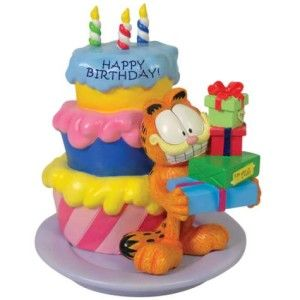 Garfield 15951 Garfield Happy Birthday Figurine