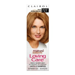 CLAIROL NATURAL INSTINCTS LOVING CARE #727 DARK GOLDEN BLONDE
