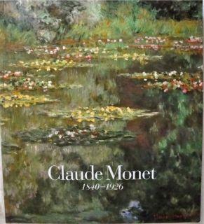 Claude Monet Exhibition Catalog Art Inst of Chicago