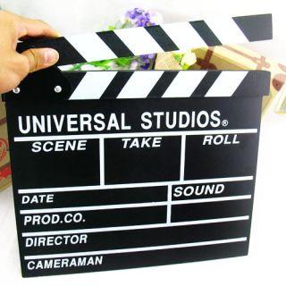 Black Clapper Board Directors TV Film Slate Movie Cut