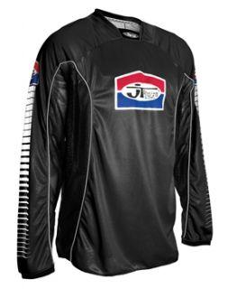 JT Racing Pro Tour Jersey   Black/White 2012