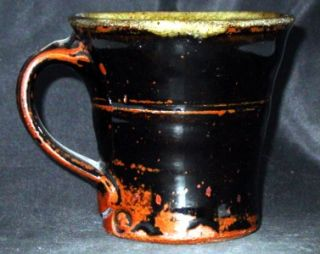 Museum Qty Shirley Johnson Mingei Pottery Coffee Mug Tea Cup Warren