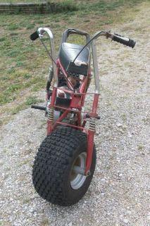 Vintage  Roebuck Big Fat Tire Mini Bike Roper ? Minibike Tecumseh