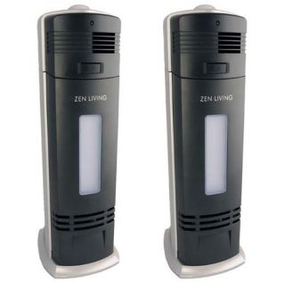 TWO NEW PRO IONIC FRESH BREEZE AIR PURIFIER IONIZER UV CLEANER