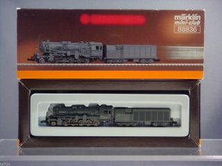 MARKLIN Z MINI CLUB 88836 DRG CLASS 52 2 10 0 FRT LOCOMOTIVE W