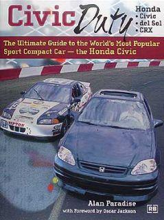 Customize Honda Civic and Del Sol Book 1992 1993 1994 1995 1996 1997
