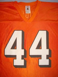 Cleveland Browns Lee Suggs #44 NFL Orange Football Jersey Adult 2X