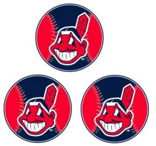 MLB Cleveland Indians Stickers Decals Sticker Decal New
