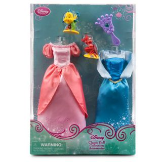 Disney Princess Ariel Little Mermaid Doll Wardrobe Accessories and