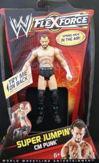 Cm Punk WWE Flex Force Mattel Toy Wrestling Action Figure