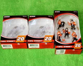 of Collectible NASCAR 20 Tony Stewart Car Christmas Ornaments