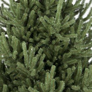 8ft mountain pine artificial christmas tree green