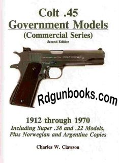 Clawson COLT 1911 Mint Colt .45 Government Model Commercial Series