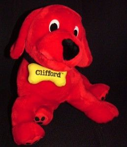 Clifford? the Big Red Dog Kohls Stuffed Plush Toy 13 long Like NEW
