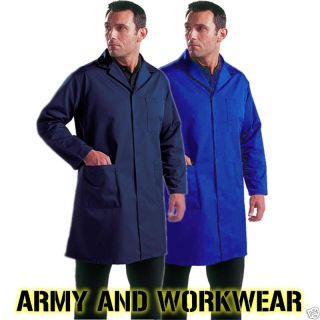 Warehouse Store Lab WorkWear Coat Coverall Shop Factory