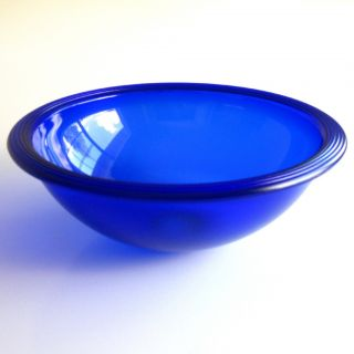 Cobalt Blue 15 Italian Murano Blown Glass Vessel Sink Hand Made Vetro