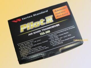 Vertex Standard VXA 300 Pilot III Air AA Batt Case