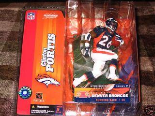 Clinton Portis McFarlane Series 7 Denver Broncos
