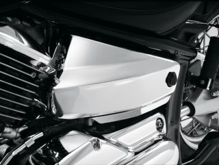 Show Chrome Side Covers Yam V Star 650 Classic Custom