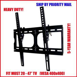 Heavy Duty Tilt Wall Mount for LED LCD Plasma 20 27 32 37 40 42 47 TV
