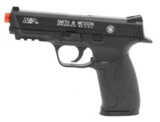 Smith Wesson M P CO2 Gas Airsoft Pistol w Bax Shooting System Tactical