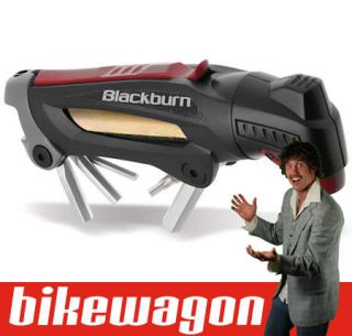 Airfix CO2 Bicycle Inflator Pump and Bike Multi Tool Kit
