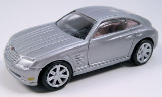Racing Champions Hot Chrysler Crossfire 2002 Concept Grey Chrome