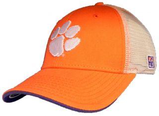 Clemson Tigers Orange The Game Mesh Trucker Cap Hat