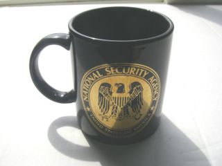 NSA National Security Agency Coffee Cup Mug