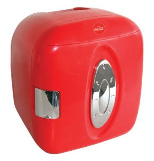 Koolatron Coca Cola 9 Can Capacity Compact Mini Fridge Refrigerator