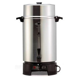 Coffee Urn 100 Cup Tea Drink Beverage Dispenser Warmer