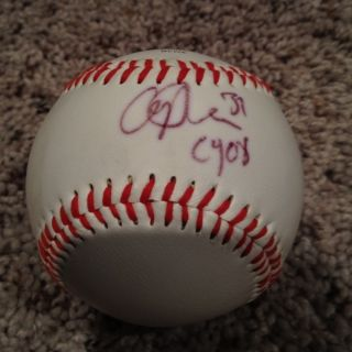 Cliff Lee Signed Auto Rawlings Official MLB Ball CY08