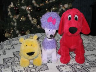 Clifford the Big Red Dog KohlS Care For Kids Plush Clifford, T Bone