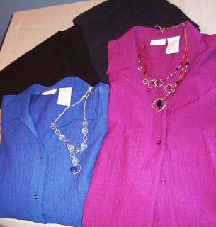 Clearance Lot Large Women Business Casual Clothes XL Tops Size 16