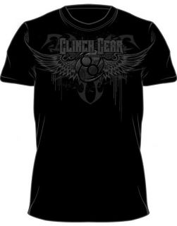 Clinch Gear Tribal Wings UFC Logo T Shirt MMA